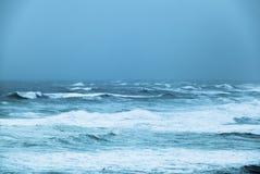 Oceano tempestoso Fotografie Stock