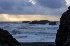 Oceano tempestoso Fotografia Stock Libera da Diritti