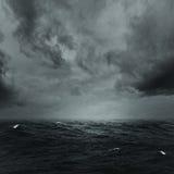 Oceano tormentoso Fotografia de Stock