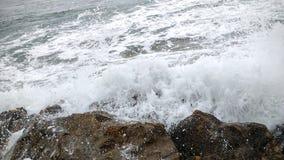 Oceano tormentoso Foto de Stock Royalty Free