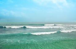 Oceano tropical Fotos de Stock