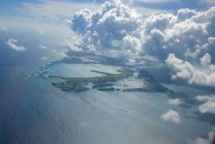 Oceano tropicale Fotografie Stock Libere da Diritti