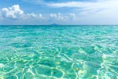 oceano verde em Tailândia Fotos de Stock Royalty Free