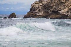 Oceano Wave Fotografia Stock Libera da Diritti