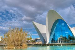 The oceanografic aquarium in the City of Arts and Sciences, Valencia Royalty Free Stock Photo
