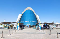 Oceanografic in the City of Arts and Sciences stock images