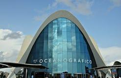 Oceanografic em Valência Imagem de Stock Royalty Free