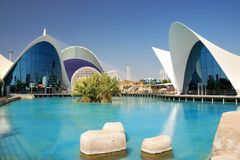 The Oceanografic in Valencia Stock Photos