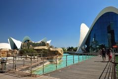 The Oceanografic in Valencia Royalty Free Stock Images