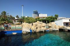 The Oceanografic in Valencia Stock Photography