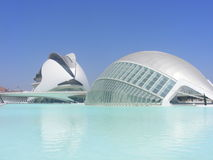 Oceanografico Valencia Stock Images