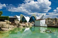 Oceanografico, Valencia fotografia stock libera da diritti