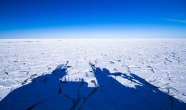 Oceanografie in Antarctica stock foto's