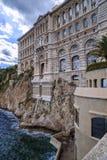 Oceanografimuseum i Monaco Arkivbilder