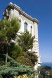 Oceanographic institut i Monaco Arkivfoto