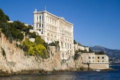 Oceanographic institut i Monaco Arkivbild