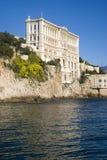 Oceanographic institut i Monaco Arkivfoton