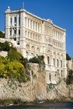 Oceanographic institut i Monaco Arkivbilder
