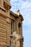Oceanographic institut, Monaco Arkivbild