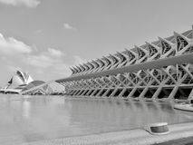 Oceanographic. Museum in city of Valencia Royalty Free Stock Photography