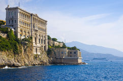 Oceanographic Museum of Monaco. View of Oceanographic Museum of Monaco. Monte Carlo Stock Image