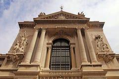 Oceanographic Museum in Monaco Stock Images