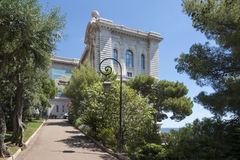 Oceanographic Museum of Monaco. The Oceanographic Museum (Musée océanographique) is a museum of marine sciences in Monaco-Ville, Monaco.  Jacques-Yves Cousteau Royalty Free Stock Photography