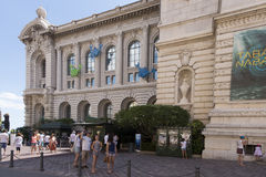 Oceanographic Museum of Monaco. The Oceanographic Museum (Musée océanographique) is a museum of marine sciences in Monaco-Ville, Monaco.  Jacques-Yves Cousteau Royalty Free Stock Photos