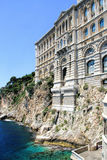 Oceanographic Museum in Monaco Stock Photography