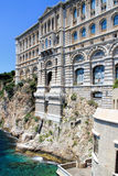 Oceanographic Museum in Monaco Royalty Free Stock Images