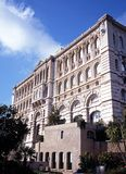 Oceanographic Museum, Monte Carlo. Stock Image
