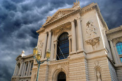 Oceanographic Museum in Monte Carlo, Monaco Stock Photo
