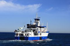 Oceanographic ship Stock Images