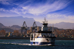 Oceanographic ship Royalty Free Stock Images