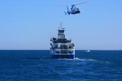 Oceanographic ship Royalty Free Stock Photos