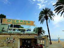 Oceans Beach Club stock images