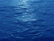 Oceans blue. Very far away from shore Stock Image