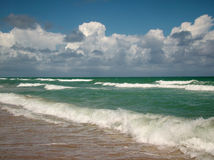 Oceanscape and Cloudscape Royalty Free Stock Photos