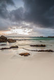 Oceanscape no nascer do sol foto de stock royalty free