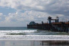 Oceanside Pier, Caifornia Royalty Free Stock Photos