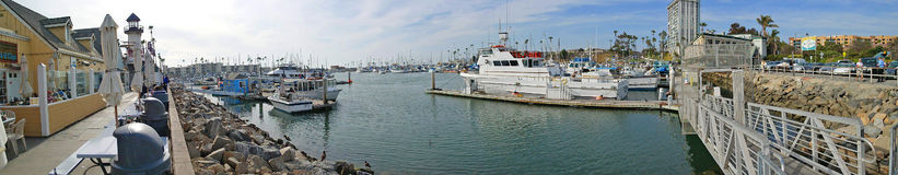 Oceanside, Ca Harbor Panoramic Stock Photos