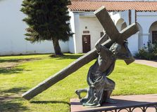 San Luis Rey mission in California Royalty Free Stock Photo
