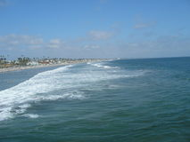 Oceanside California Beach Royalty Free Stock Image