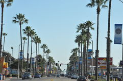 Oceanside in California Royalty Free Stock Photography