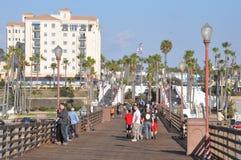 Oceanside in California Royalty Free Stock Photos