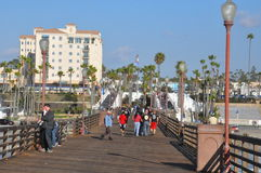 Oceanside in California Royalty Free Stock Photo