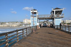 Oceanside in California Royalty Free Stock Images