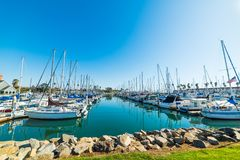 Free Oceanside Harbor On A Clear Day Stock Image - 106147281