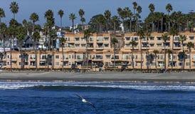 Oceanside House Stock Photo