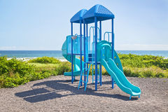 Oceanside Jungle Gym Royalty Free Stock Images